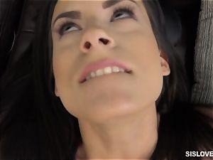 Alexis Deen tears up her step bro