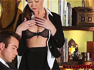 Maddy O'Reilly plowed by her boss