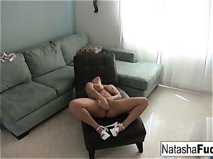 Natasha luvs a tiny alone time by herself