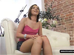 Alessia Lebedeva Has a casting Interview