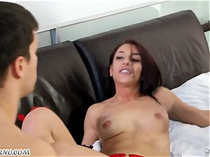 huge-chested cougar Cherie DeVille wants hookup with her hubby and his best buddy Mischa Brooks