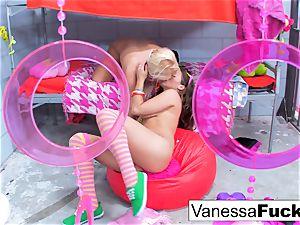 Flower intensity lezzies Vanessa