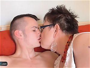 AgedLove thick mature babe hardcore with Sam Bourne