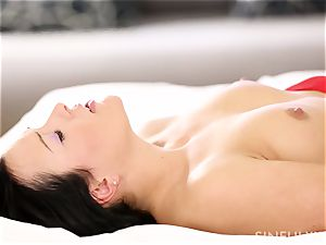 passionate bedroom session with an incredibly sensuous woman