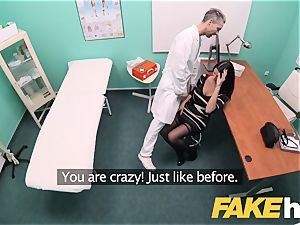 faux medical center fat knockers grind babe Ania Kinski